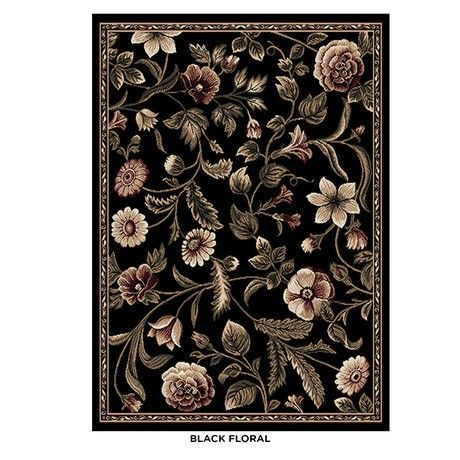 Designer Home Floral 5' 2' x 7' 2' Turkish Area Rug - Assorted Styles at 53% Savings off Retail!