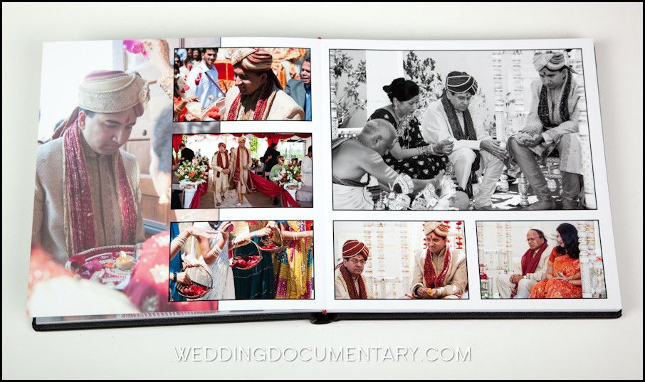 indian wedding album ideas