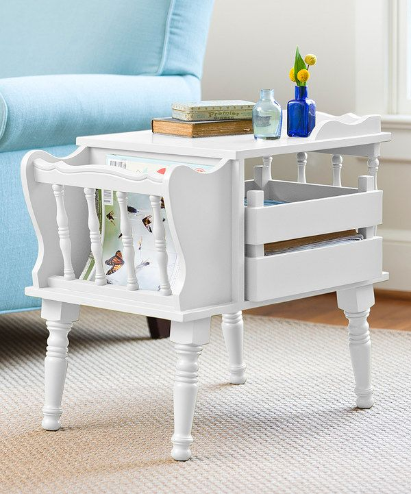 Look At This White Magazine Table On #zulily Today!