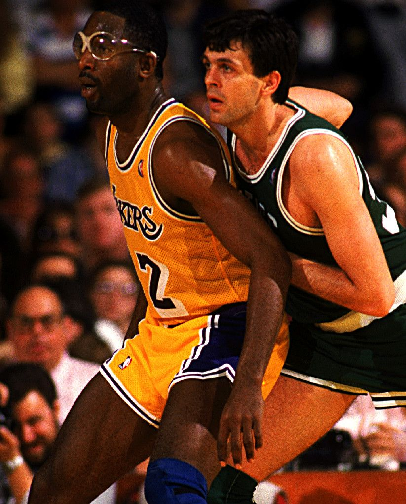 James Worthy & Kevin McHale Lakers Pinterest