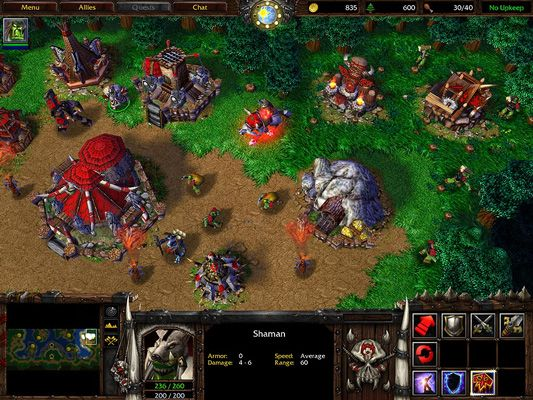 Warcraft Iii Orc Base Realtimestrategy Rts