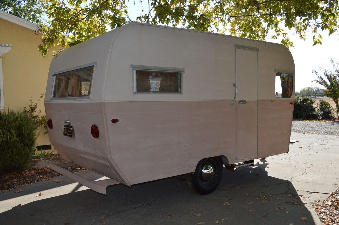 For sale vintage camper trailers 1960 aristocrat