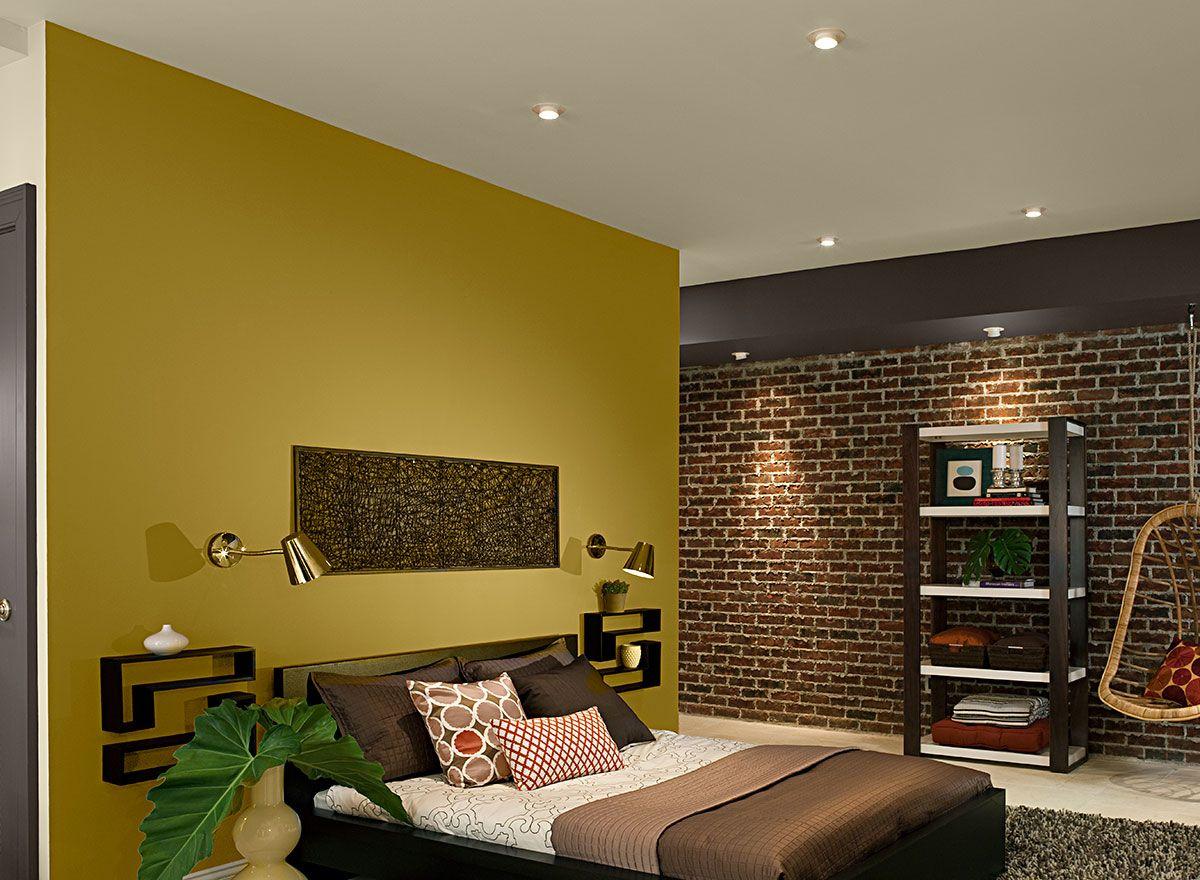 Urban Eco Friendly Bedroom Bedroom Orange Bedroom Wall Colors Bedroom Paint Colors Master