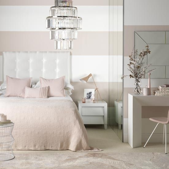 Explore Headboards For Double Bedore White And Pink Bedroom