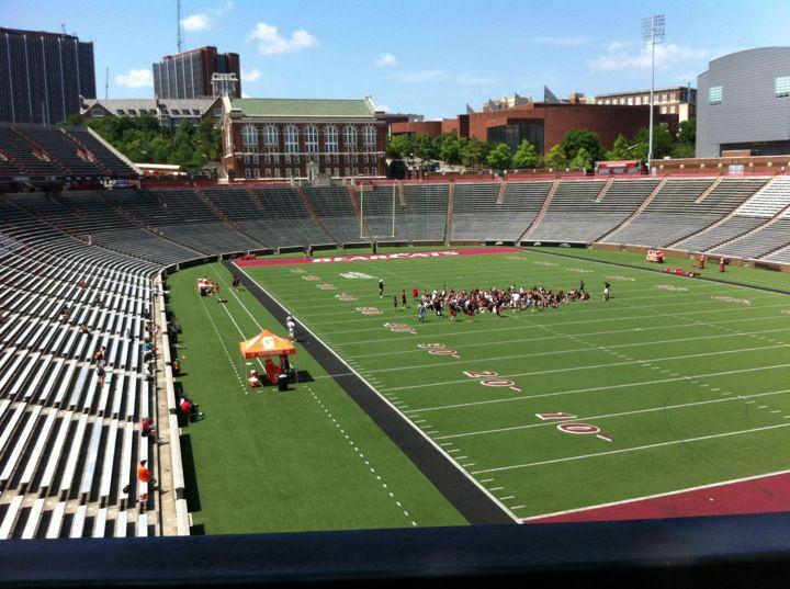 Nippert Stadium In Cincinnati Ohio Is The University Of