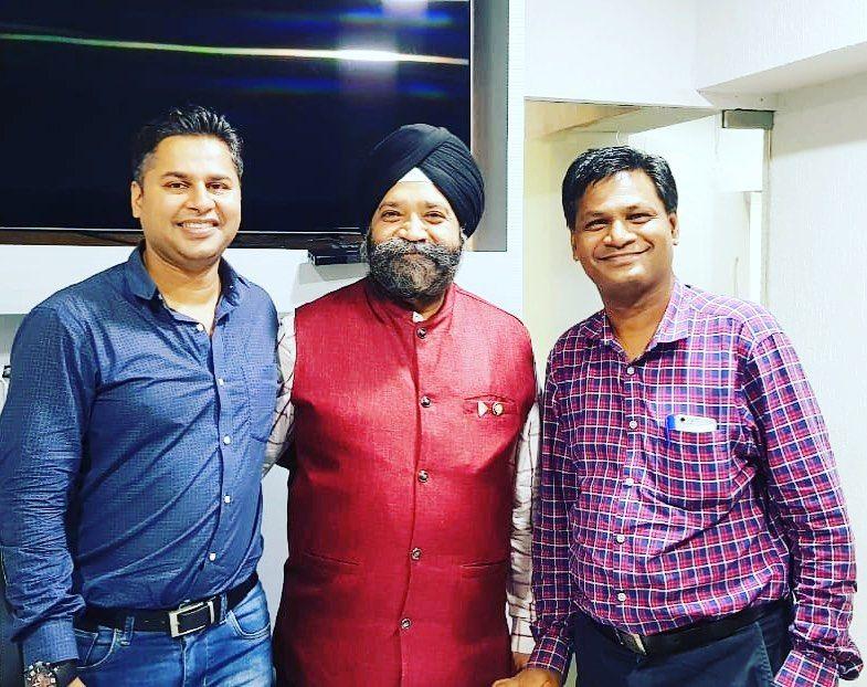 Networking With Tej Raj Singh Anand Sir And Shyam Sharma Mens