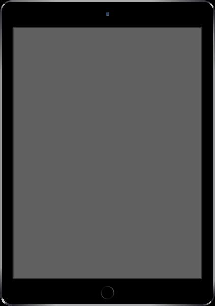 Ipad Air 2 Space Gray Vector Data For Free Mockup Created By Adobe Illustrator Cs6 Apple Ipad Air Apple Vector Ipad Air 2