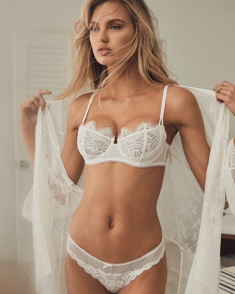 Women's Clothing Teddies Objective Victoria Secret Angels Lingerie Teddy Sexy Lace Bra 36b Slip Push Up Black Lace