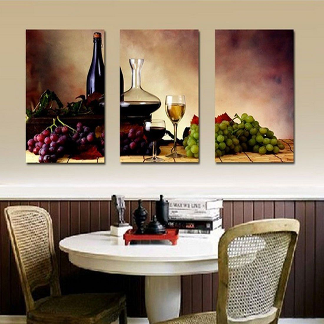 Amazon Com Hot Sell 3 Panels 40 X 60 Cm Modern Wall Painting