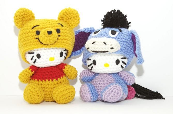 Hello Kitty Bailarina Amigurumi no Elo7 | Leila Amigurumi (A82DBC) | 440x669