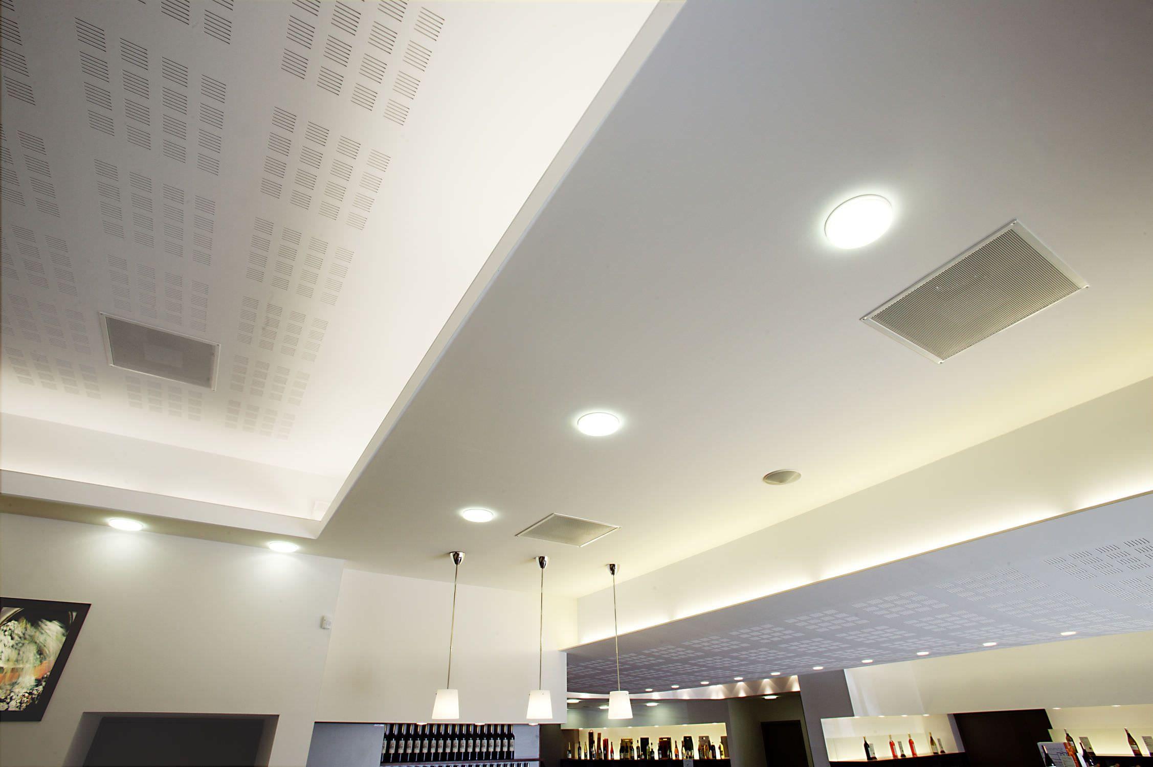 Plaque de plâtre pour corniche lumineuse / rainurée - PLAFOND ...