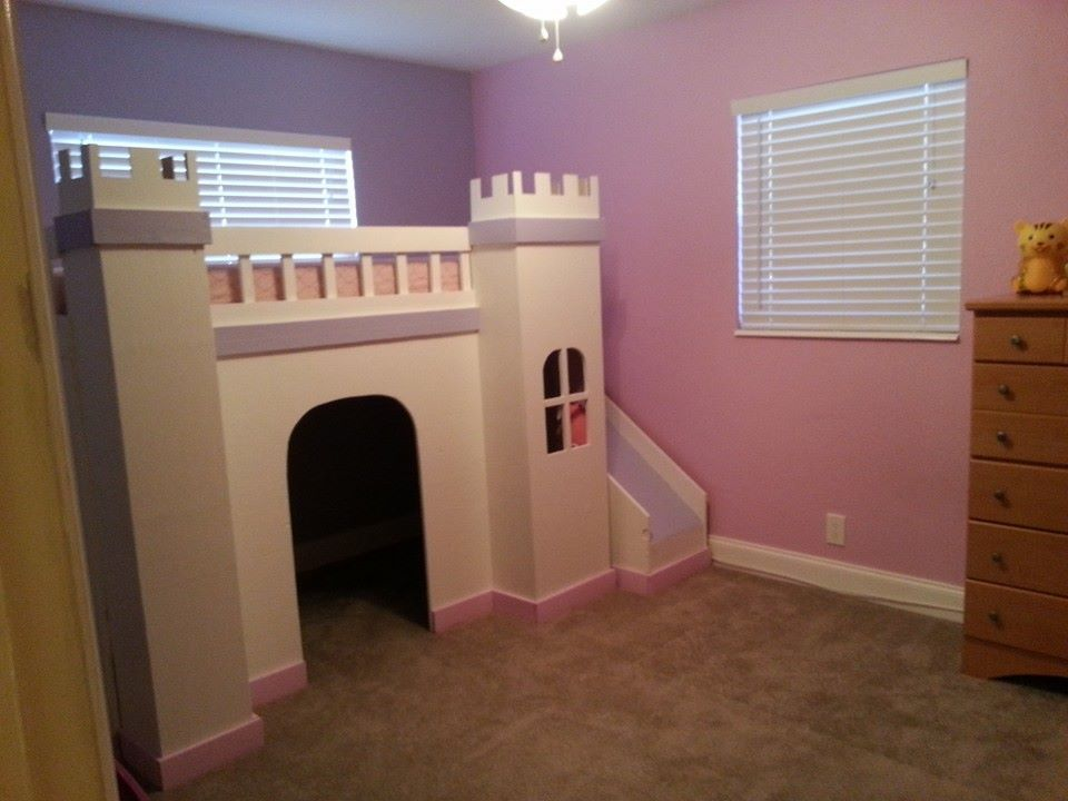 Best Princess Castle Loft Bed Do It Yourself Home Projects 400 x 300