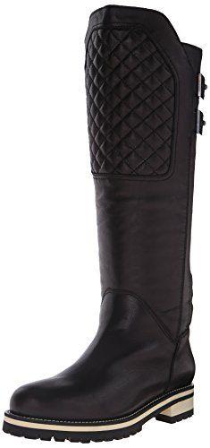 Aquatalia Women's Elara Winter Boot, Black, 6.5 M US *** Be sure