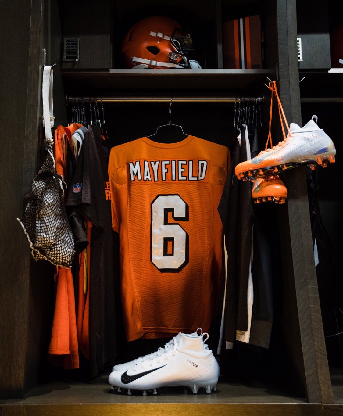 UNISWAG on Cleveland browns history, Baker mayfield nfl