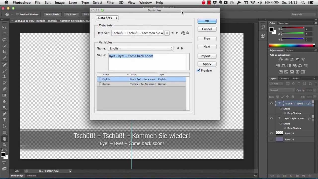 Automatically prepare subtitles on Mac (Easy Languages