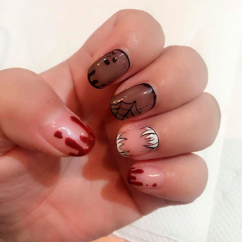 The Best Halloween Nail Designs In 2018 Stylish Belles Halloween Nail Designs Halloween Nails Nail Designs