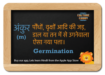 Folks, here is our first Hindi-word-of-the-Day  Would you