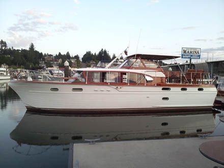 Port Orchard WA this weekend! The largest collection of Chris Craft Cruisers in the world!