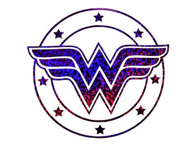 Wonder Woman Glitter Decal wallpaper by Superman8193 on DeviantArt Escudo  Mulher Maravilha 2651194c9db