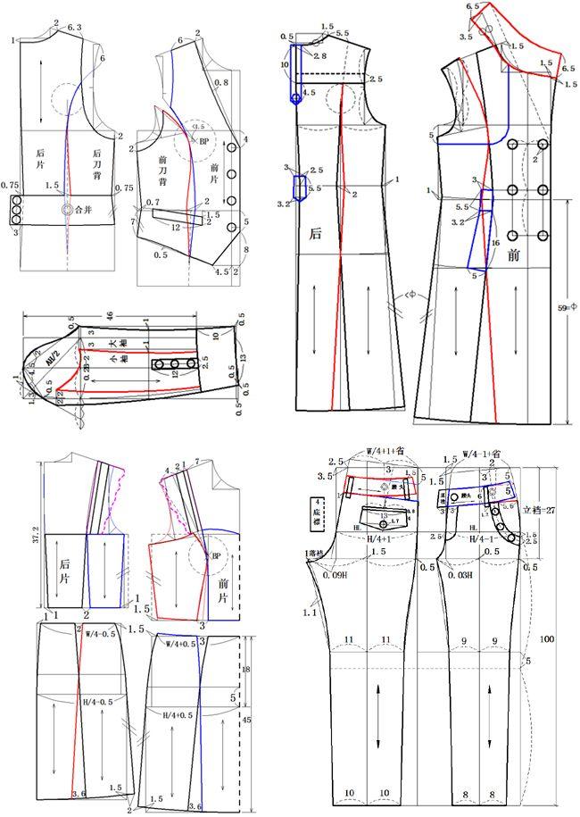 MODELAGEM DE CALÇA 3 | patrones | Sewing patterns, Sewing y Pattern