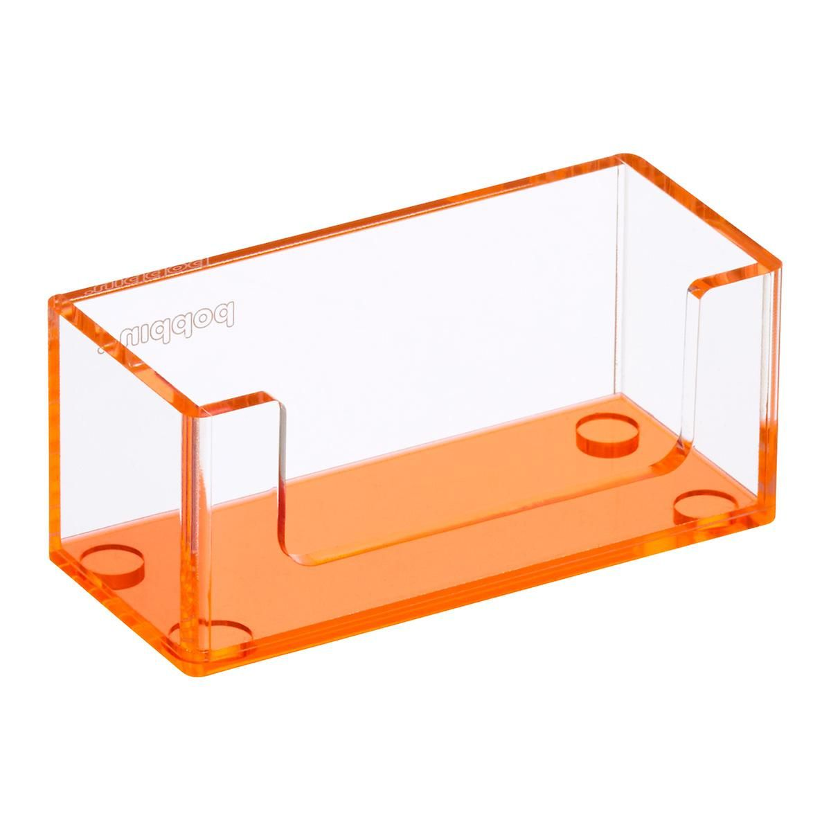 Neon Orange Poppin Acrylic Business Card Holder | card | Pinterest ...