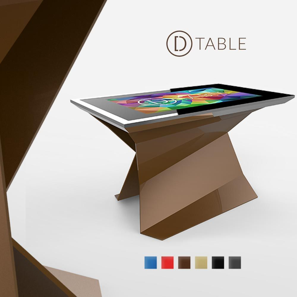 D Monster D Table Touch Screen Table Interactive Table Museum Exhibition Design
