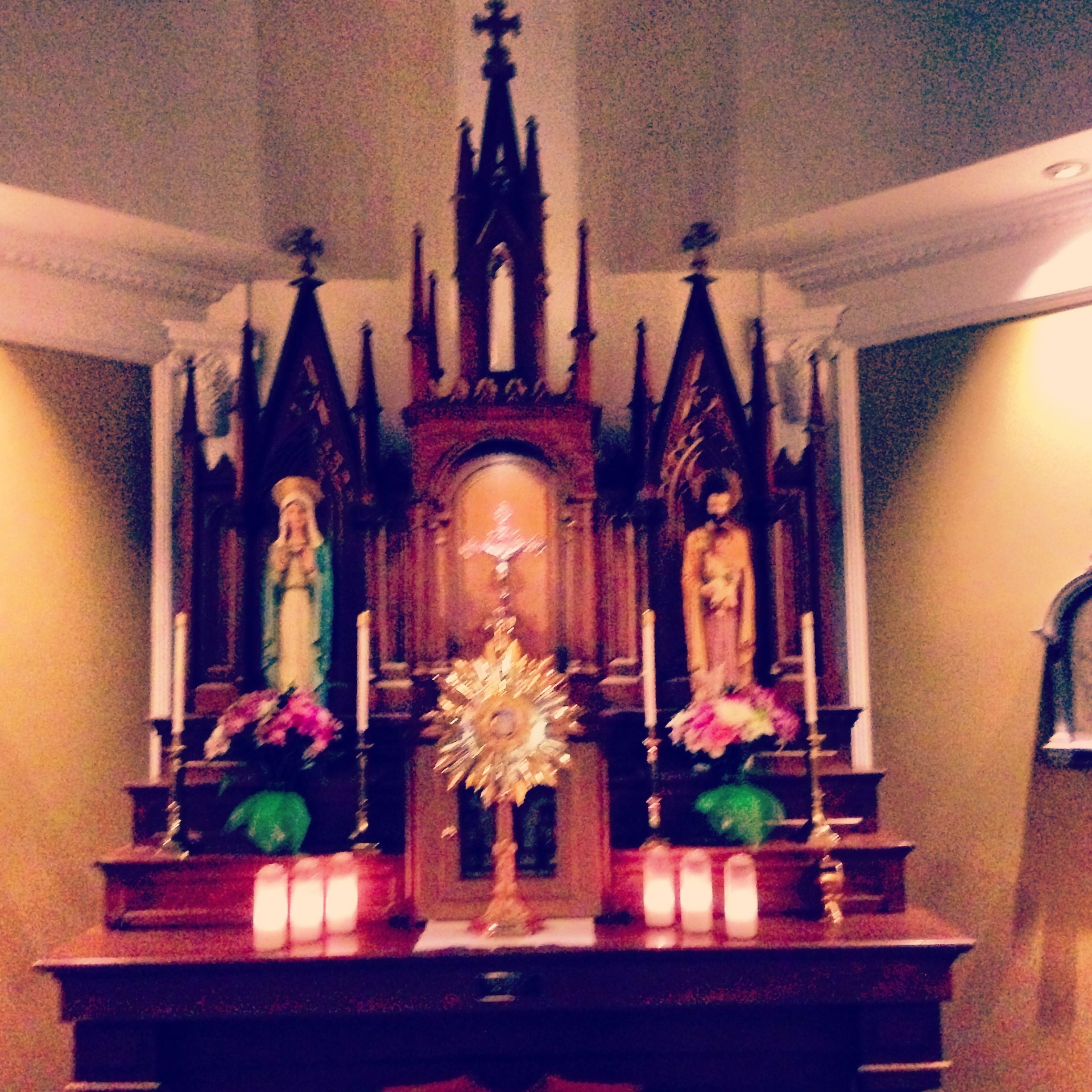 Adoration Chapel at Saints Peter & Paul Catholic Church