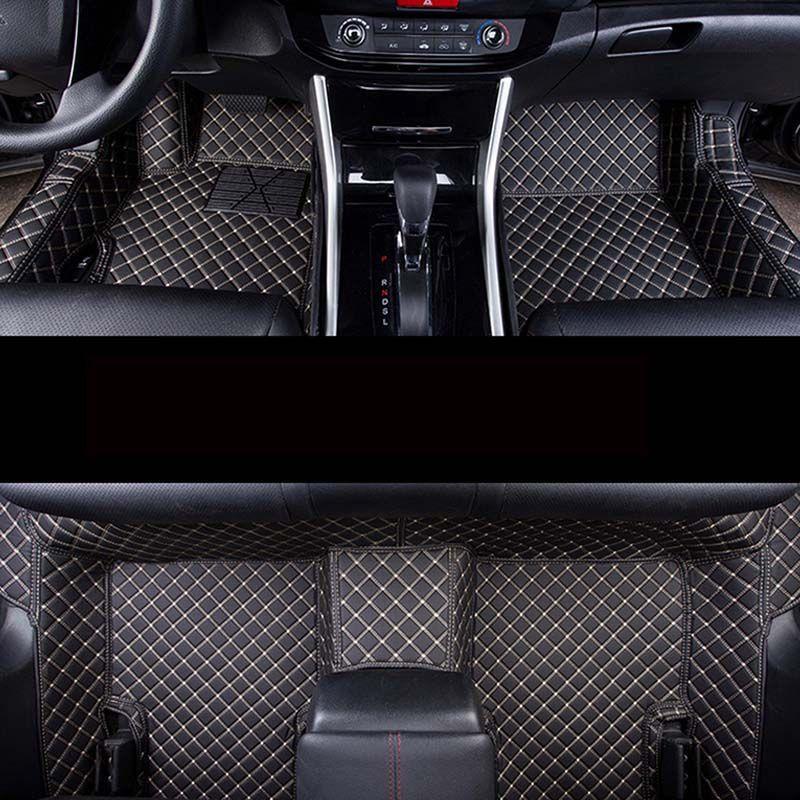 Auto Car Carpet Foot Floor Mats For Hyundai Santa Fe 2007 Fe 2011 Solaris 2017 Elantra I30 I40 I10 I20 2010 2013 Accent Car Mats Car Carpet Car Mats Accent Car