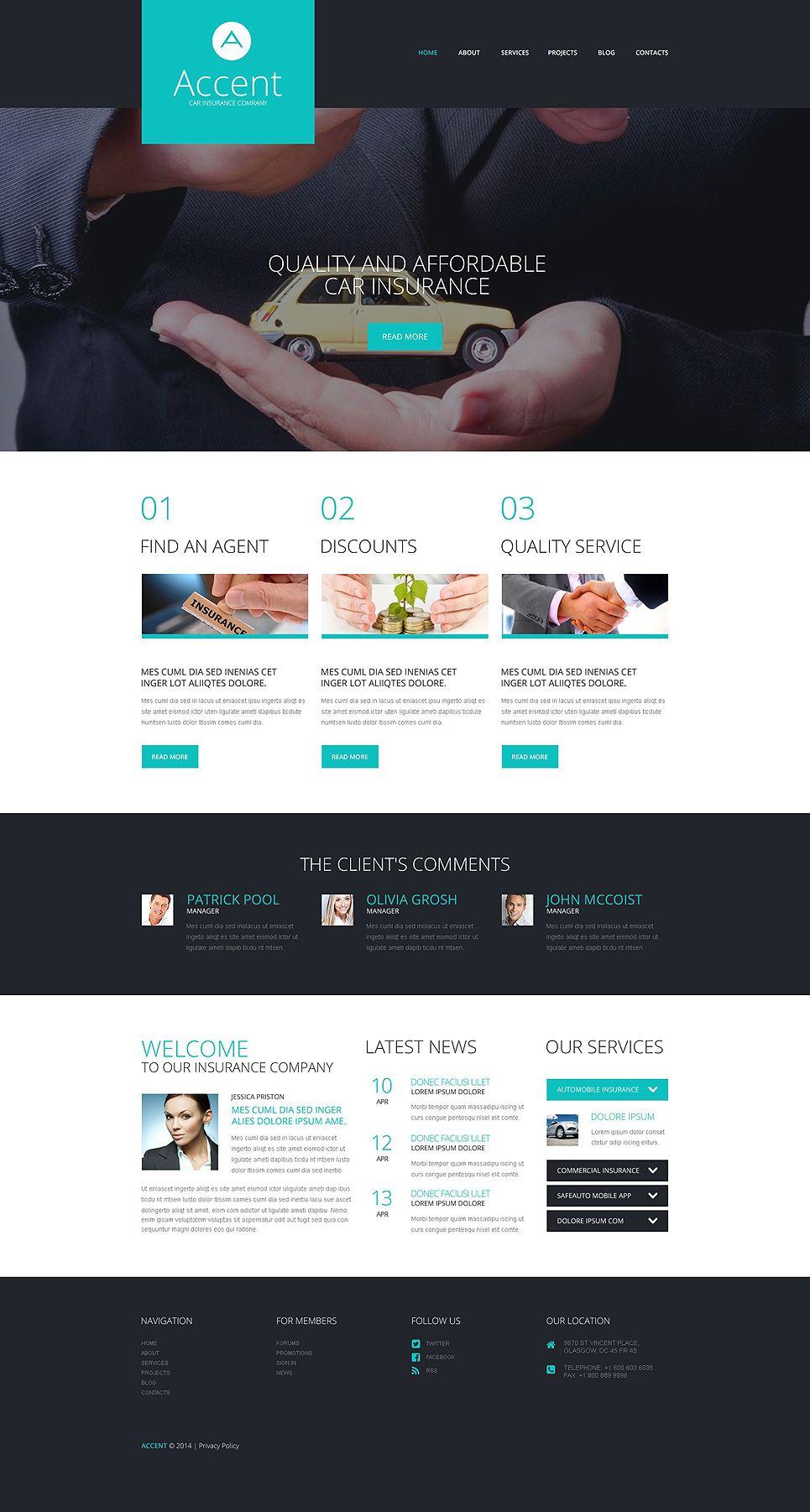 Insurance Responsive Wordpress Theme 52050 Wordpress Theme Wordpress Best Wordpress Themes