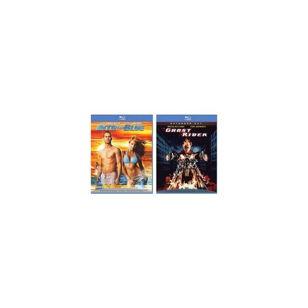 Ghost Rider/Into the Blue Blu-Ray - 2 Pack