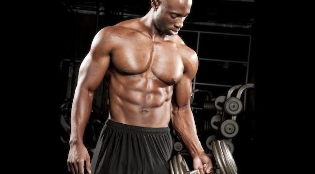 Treino bíceps intermediário
