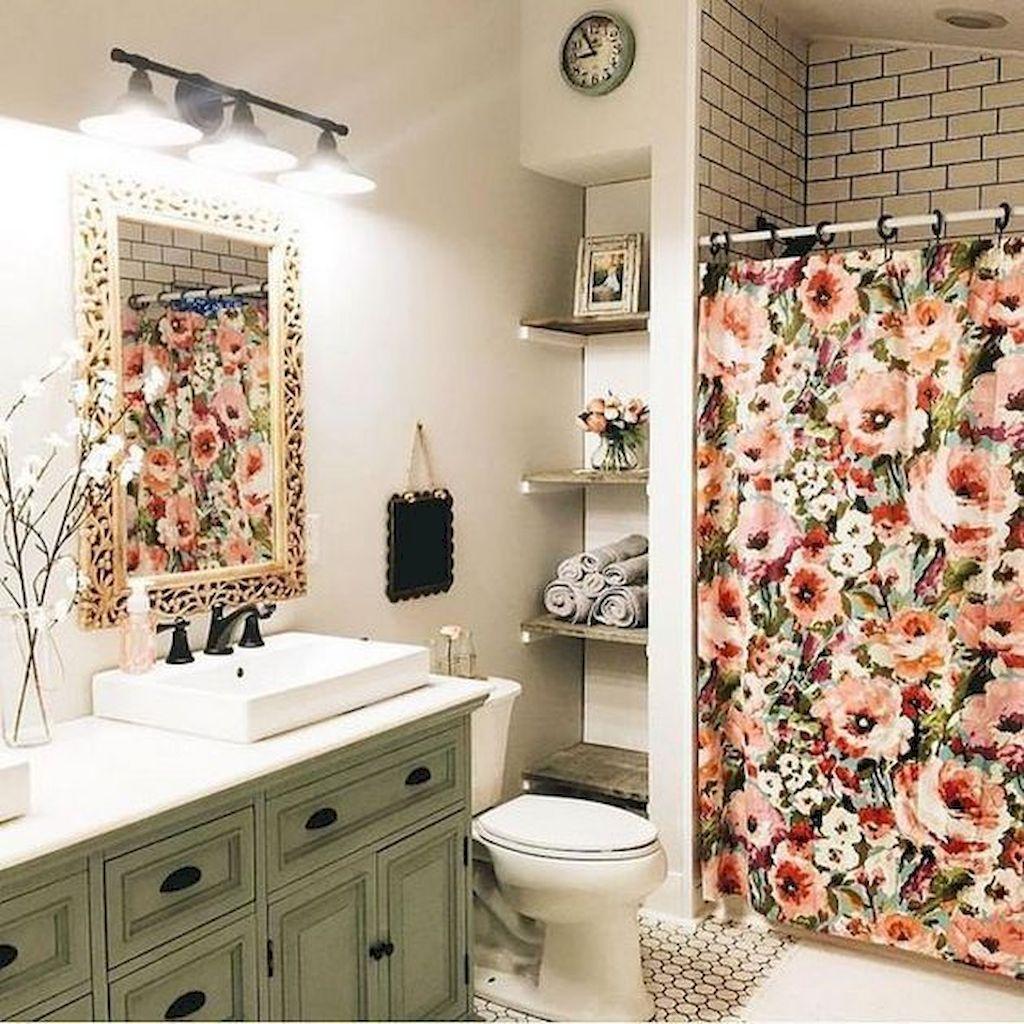 45 Farmhouse Rustic Bathroom Decor Ideas On A Budget  Rustic Glamorous Bathroom Decor Ideas On A Budget Inspiration Design