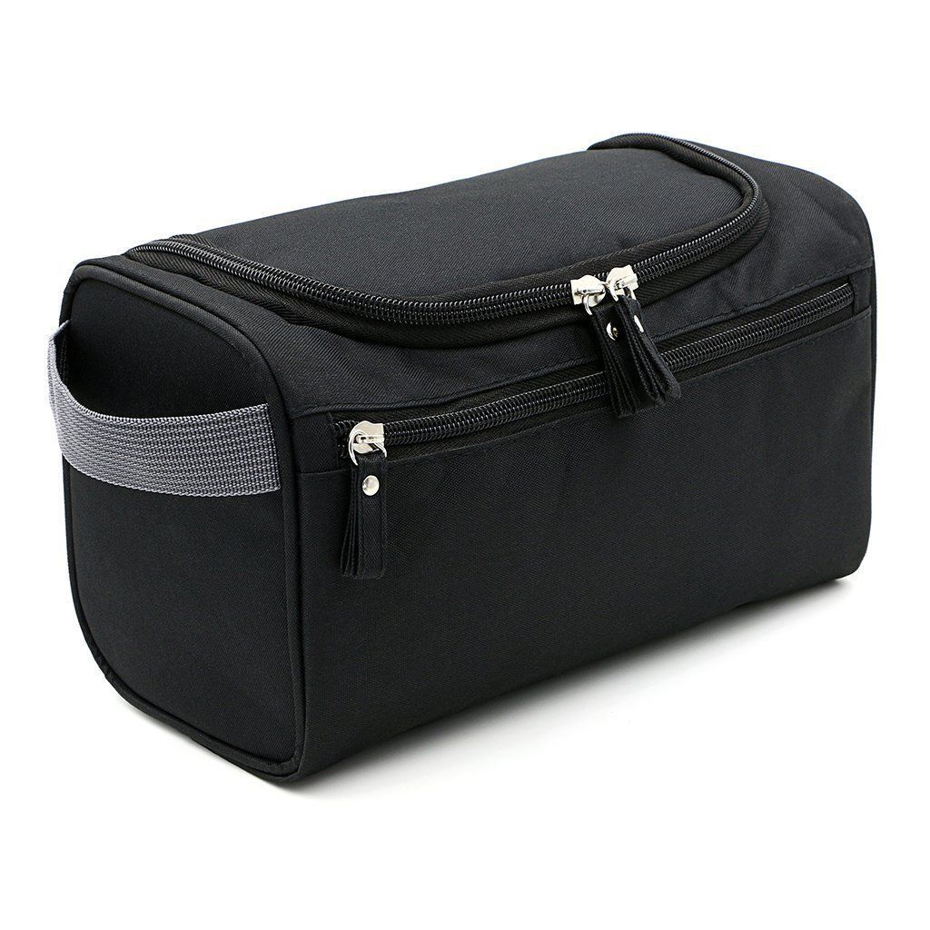 Large Toiletry Bag Travel Organizer Cosmetic Hanging Womens Makeup Pouch 5 In 1 Bags Case Black