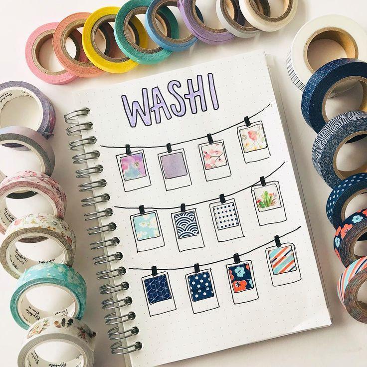 Planner Supplies Craft Tape Journal Maste Turquoise Blue Washi Masking Tape