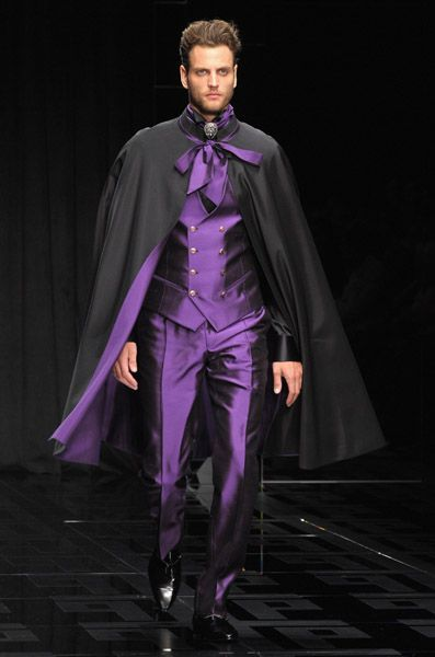 Carlo Pignatelli Spring 2010 Collection Mode Capes Homme