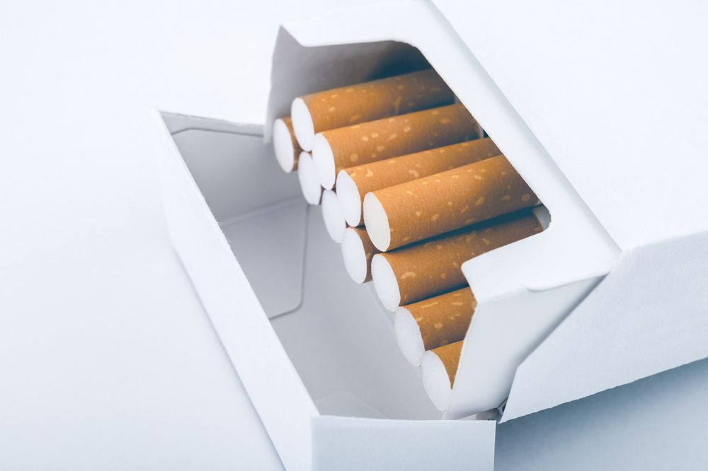 Cigarette and tobacco branding changes