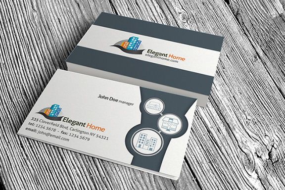 Creative And Modern Free Printable Real Estate Business Cards - Free templates for business cards to print at home