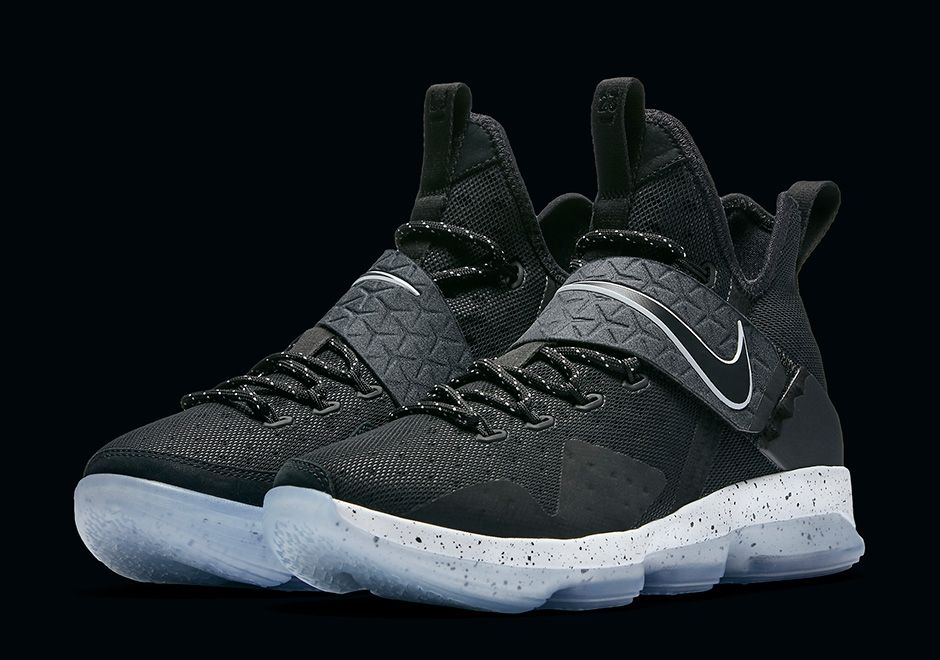 finest selection 58494 4af68 Nike LeBron 14 Black Ice Where To Buy | SneakerNews.com ...