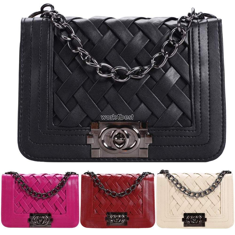 8.59 - Chanel dupe style bag eBay UK  8bf61ad6a8fb9