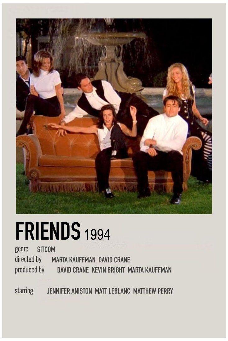 alternative movie posters friends