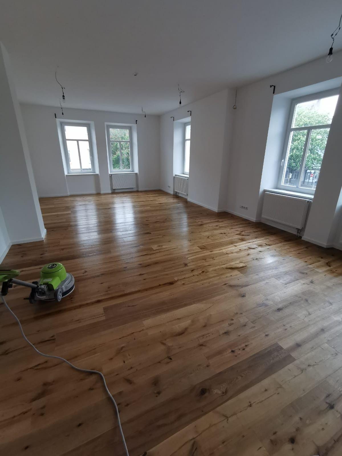Parkett Richtig Einpflegen Olen In 2020 Parkett Wohnung Boden