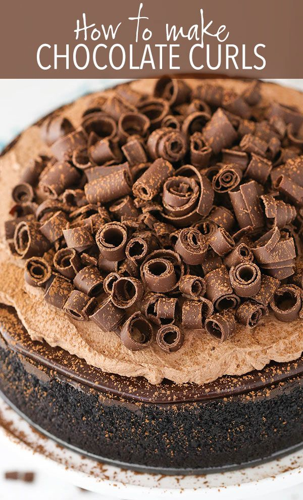 How To Make Chocolate Curls How To Make Choclate Curl