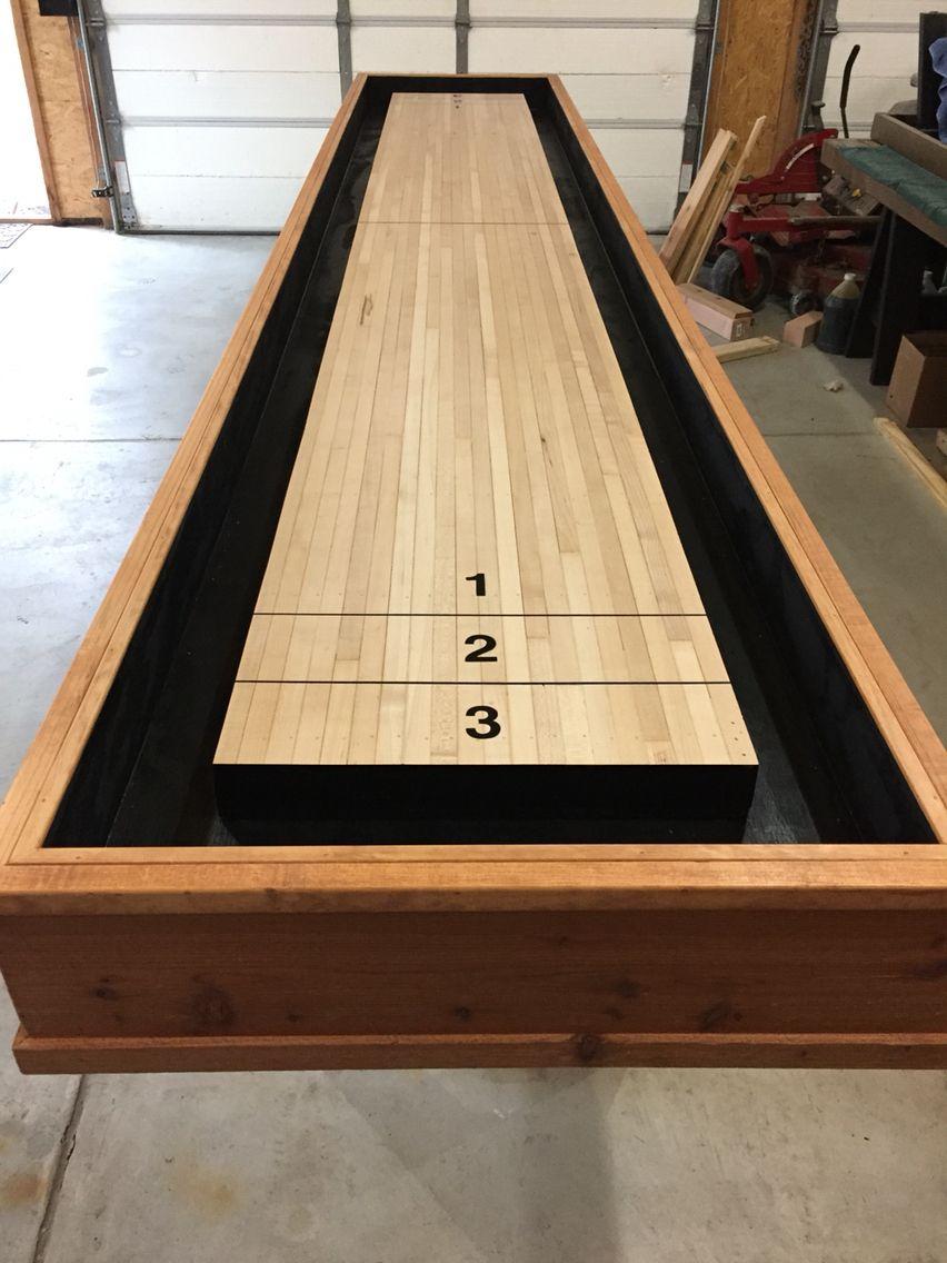 Scoring numbers! Shuffleboard Shuffleboard table, Diy