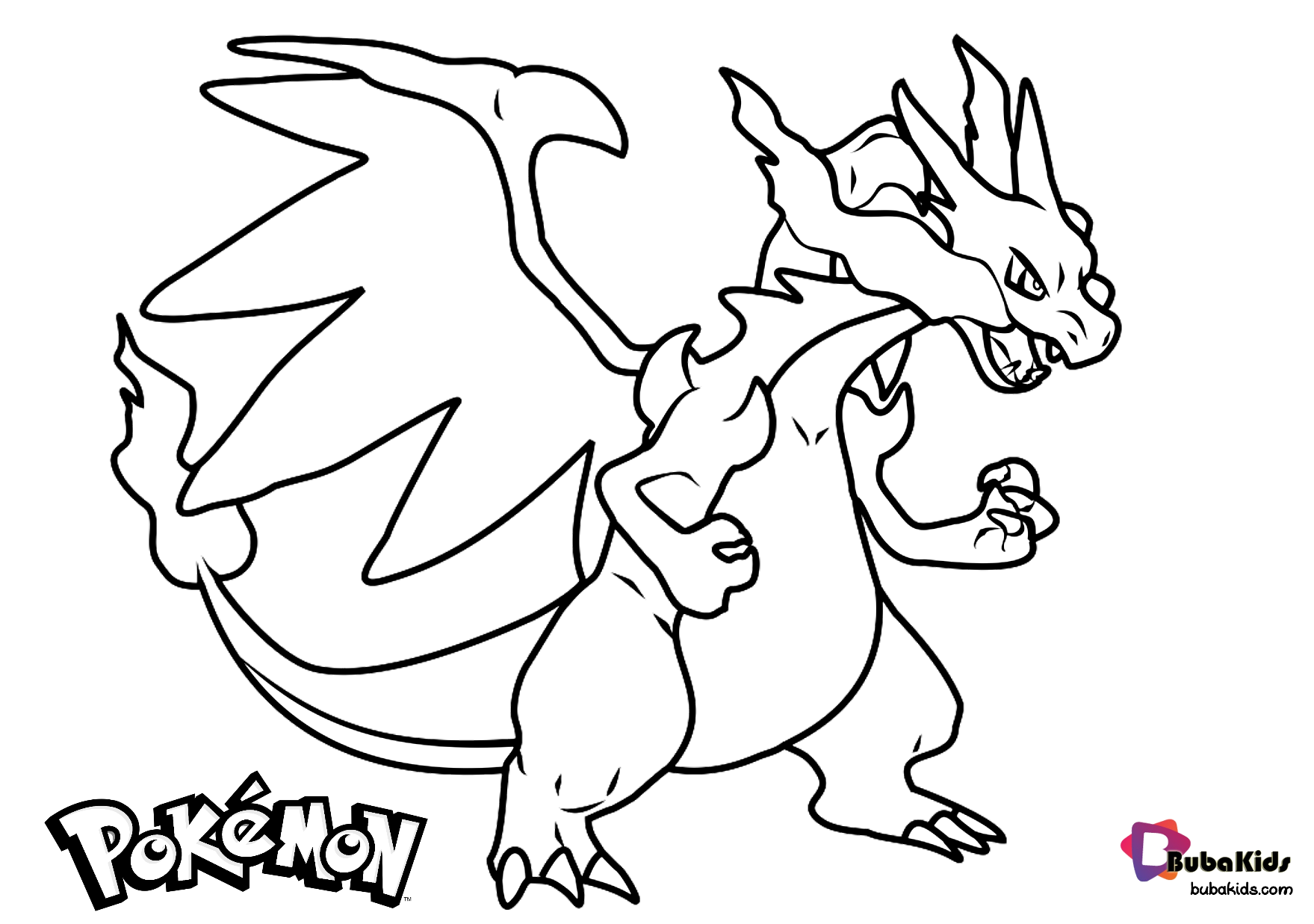 Free Download Pokemon Charizard Coloring Page Collection Of Cartoon Coloring Pages For Teenage Pr Cartoon Coloring Pages Coloring Pages Pokemon Coloring Pages