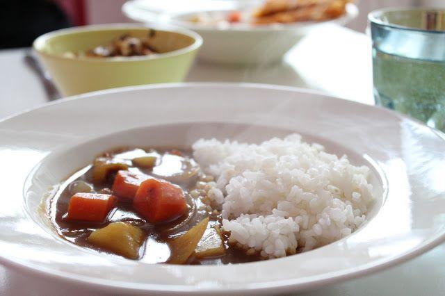 Ketunhäntä keittiössä: カレーライス ・ Japanilainen curry
