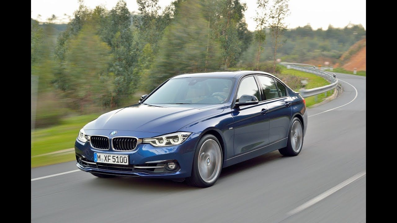 BMW F30 340i Sedan Sport Line Facelift Driving Scenes BMW
