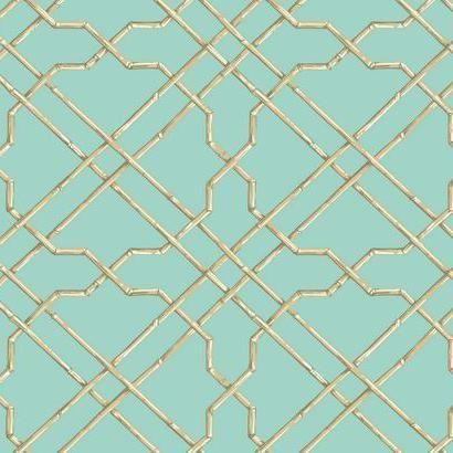 Bamboo Trellis At7077 York Wallpaper Trellis Wallpaper