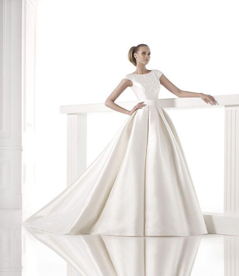 pronovias #mimi | wedding dresses | Pinterest | Pronovias, Brautmode ...