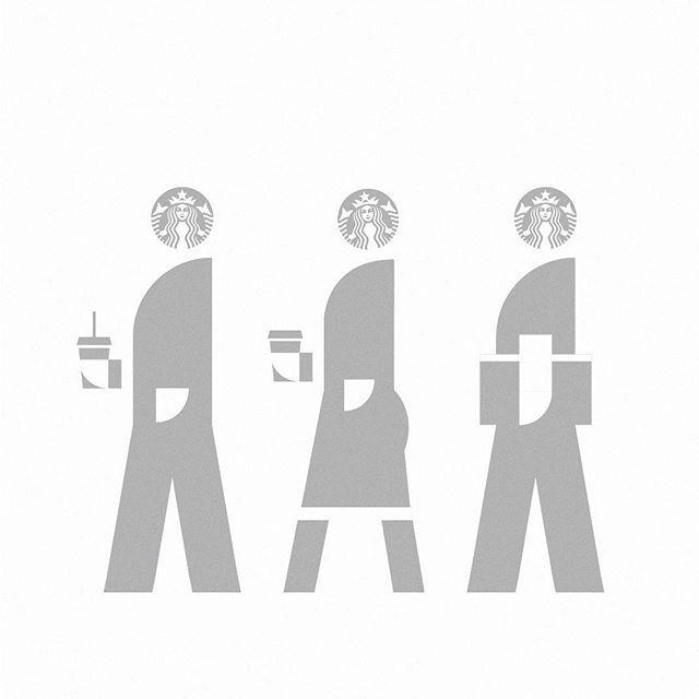 Modern society #modern #society #starbucks #graphic #graphicdesign #illust #illustration #pictogram #design #icon #symbol #meanimize #isotype #art #artwork #minimal #minimalism #디자인 #일러스트 #픽토그램 #아이소타입