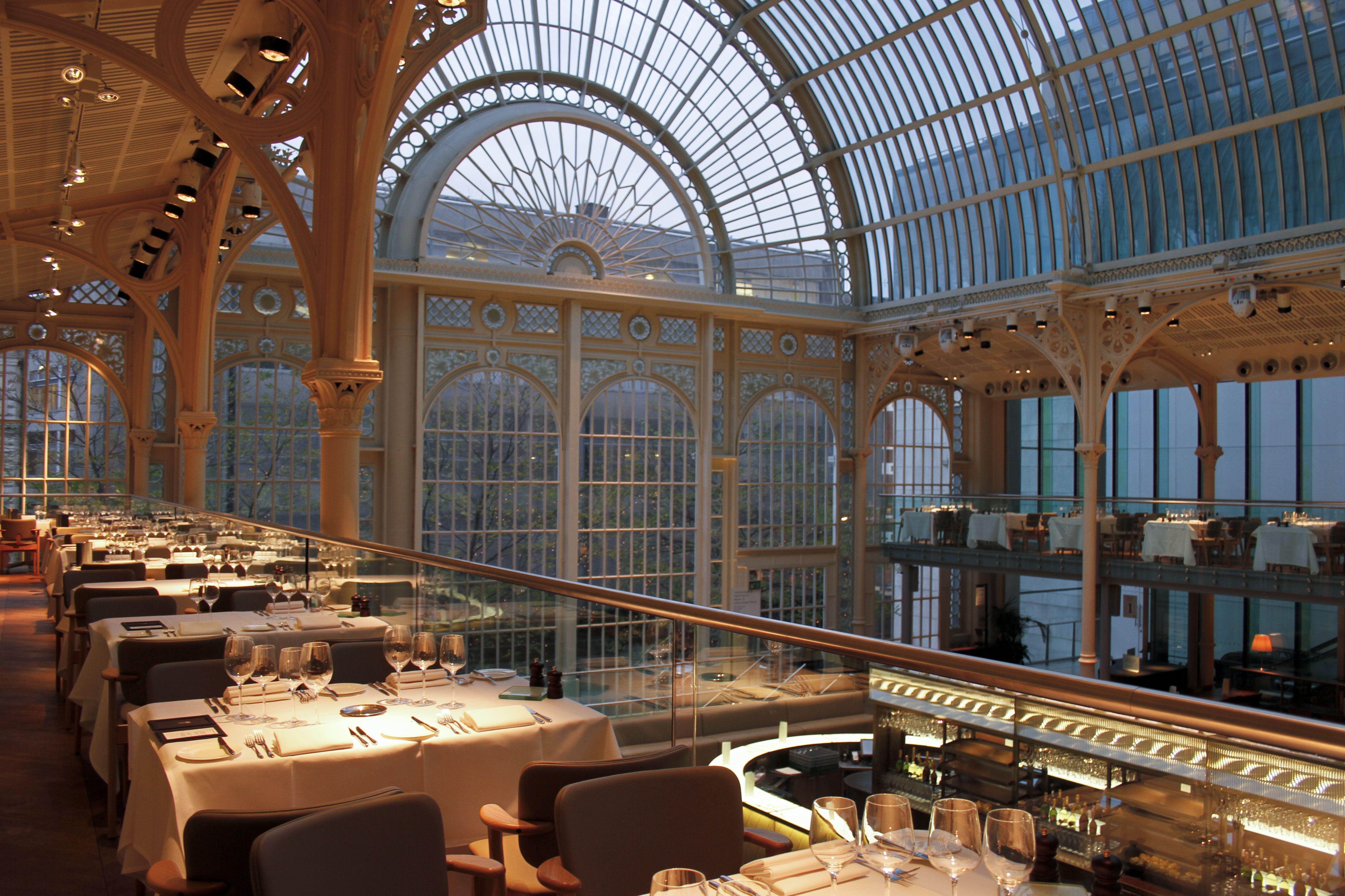 Paul Hamlyn Hall Balconies Restaurant | Royal opera house ...